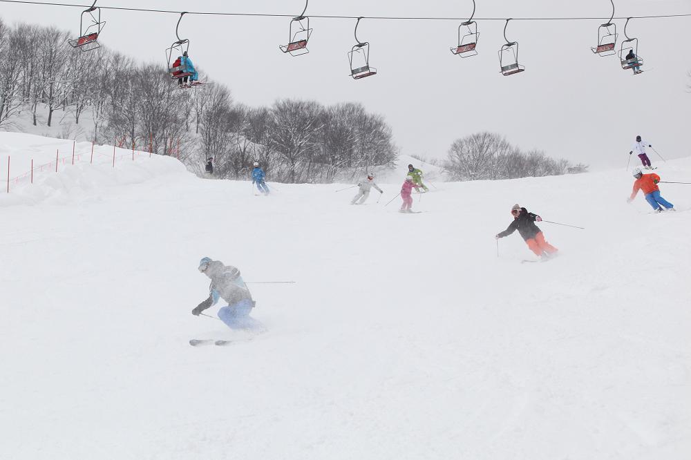 Murakami City Budoh Ski Resort