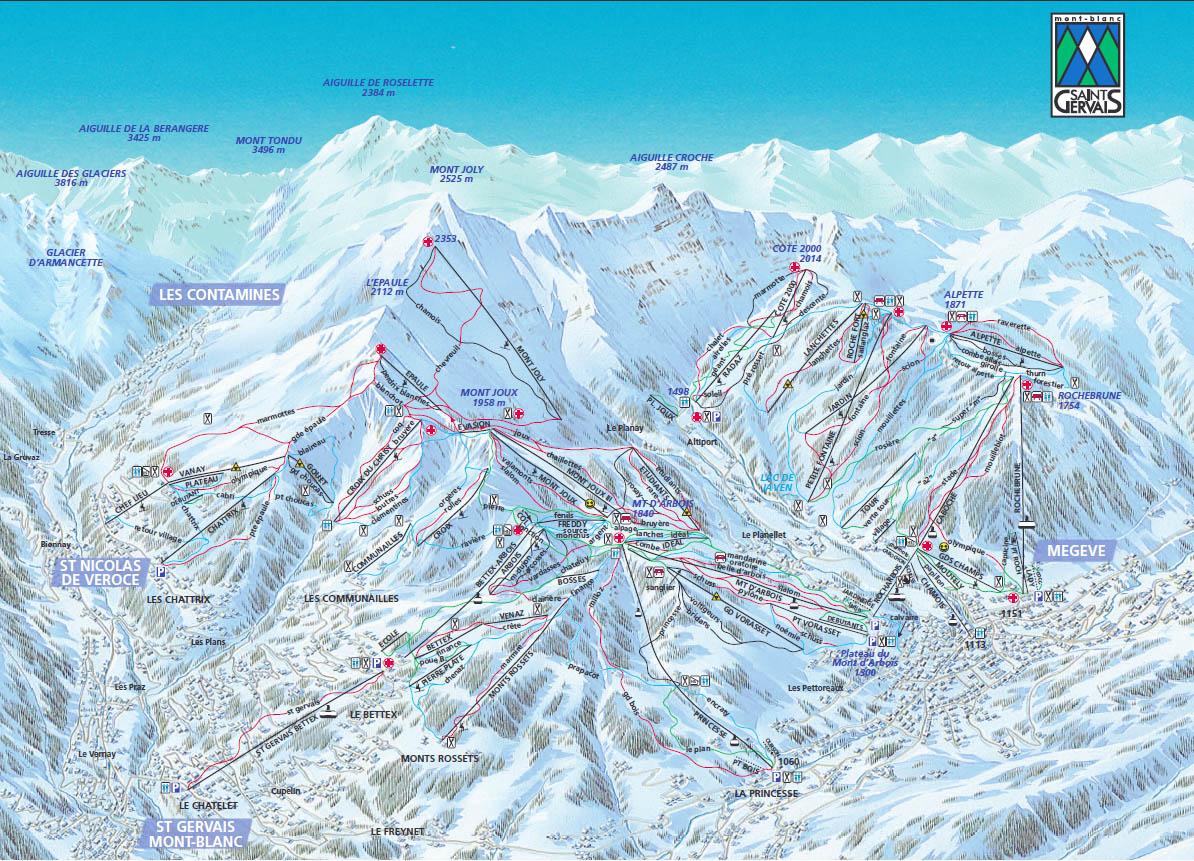 Iski Ski Resort Saint Gervais Mont Blanc Closed